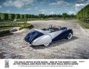 【ROLLS-ROYCE】MOTOR CARS公佈全新敞篷車型命名 ROLLS-ROYCE DAWN