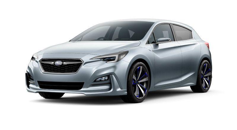 Subaru Impreza概念車廠圖現身預告小改款的設計趨勢 8891新車