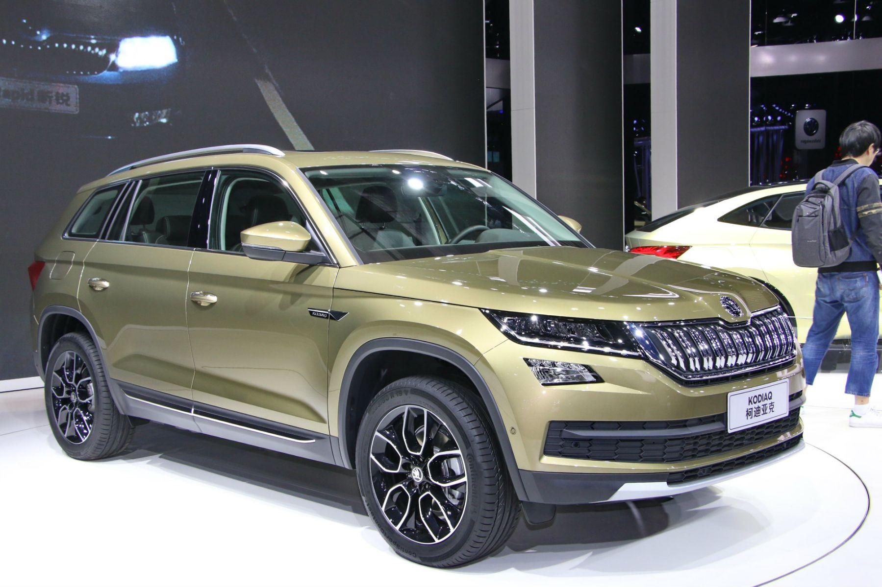 【上海車展】品牌首款7人SUV Skoda Kodiaq