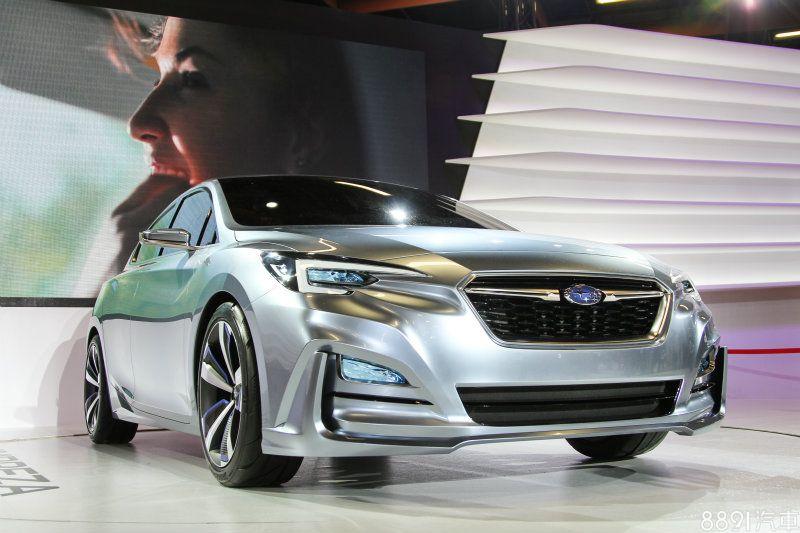 Subaru 海外市場首發台北車展subaru Impreza 5d Concept驚艷登
