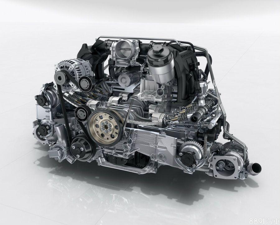 與改款911 Carrera系列相同,新一代911 GTS車系搭載3.0升水平對臥六缸雙渦輪增壓引擎,較Carrera S提升了30hp/5.1kgm的輸出,最大動力來到450hp/56.1kgm。